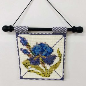 blue-iris-beaded-tapestry