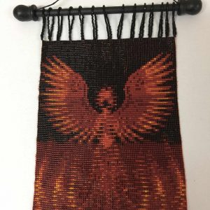 red-phoenix-beaded-tapestry