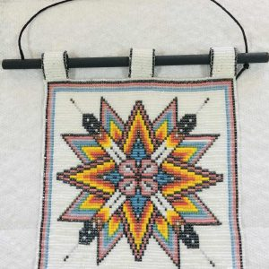 starbust-mandala-beaded-tapestry