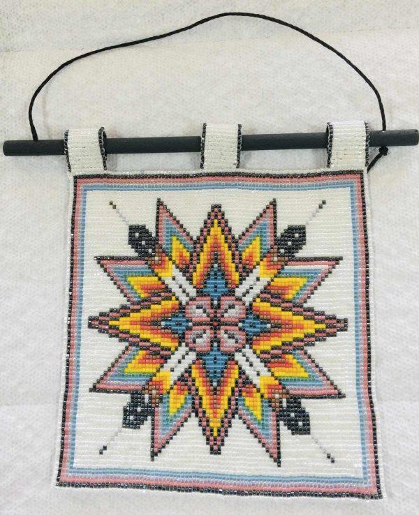 starbust-mandala-beaded-tapestry