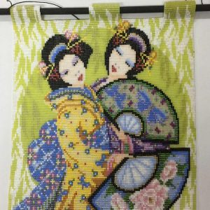 two-geishas-beaded-tapestries